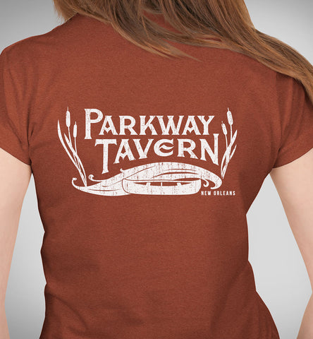 Parkway Women's Tavern Tri-Blend T-Shirt – Clay