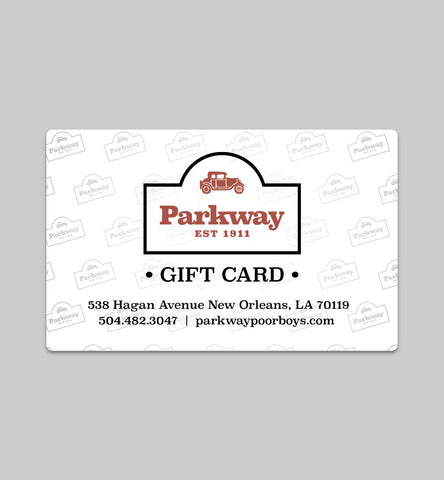 Parkway Bakery & Tavern Gift Card