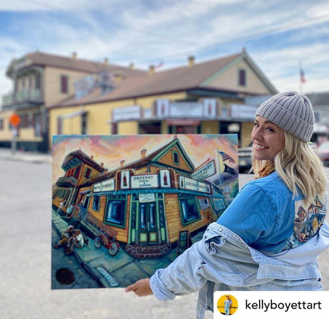 Kelly Boyett 'Parkway' Art Prints