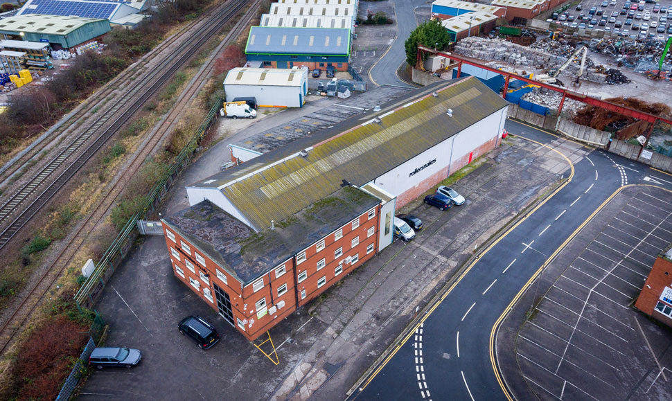 Warehouse Aerial Photo