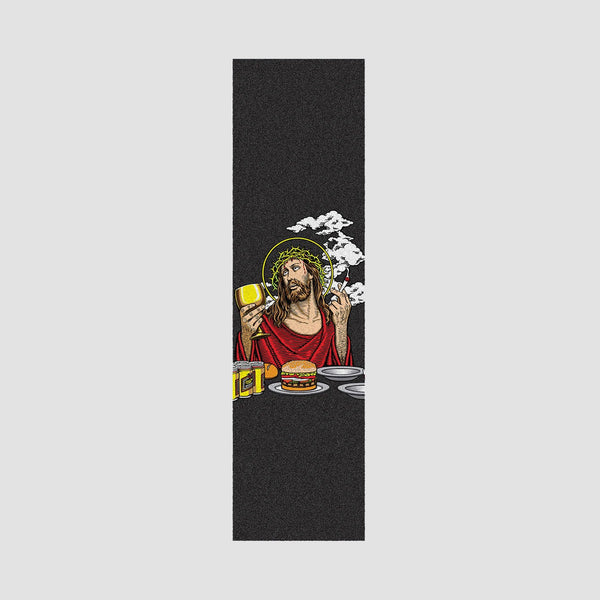 101 Smoking Jesus Jessup Grip Tape Black - 9""