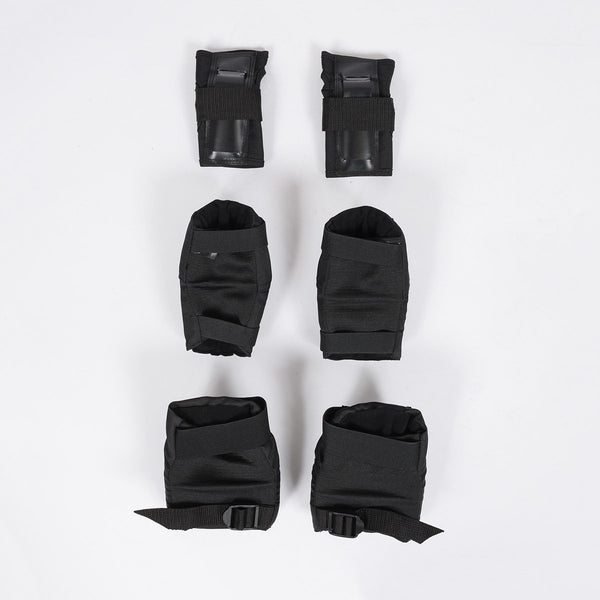 187 Killer 6 Pack Padset Black - Kids - Safety Gear