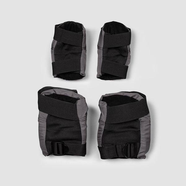187 Killer Combo Pack Knee & Elbow Pads Grey/Black/White