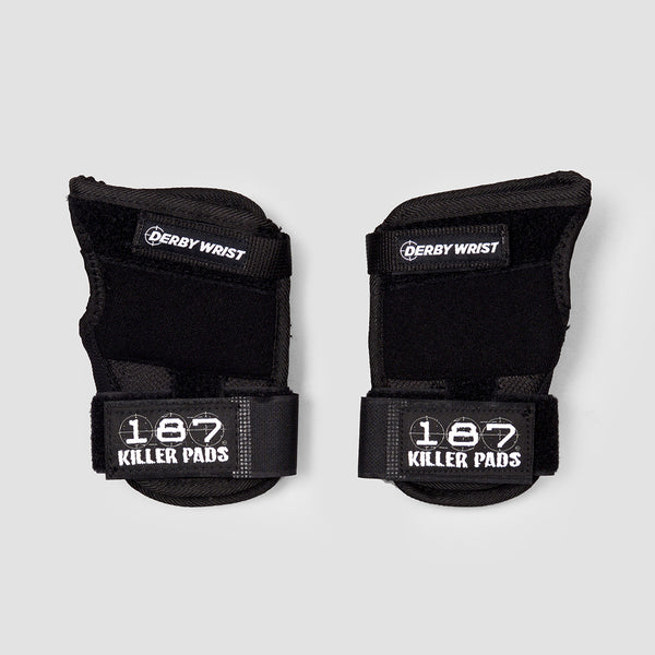 187 Killer Derby Wrist Pads Black