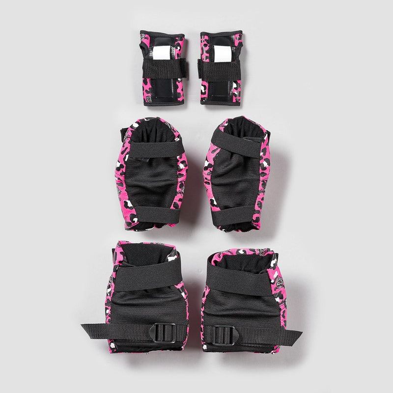 187 Killer Pad Set 6 Pack Staab Pink - Kids - Safety Gear