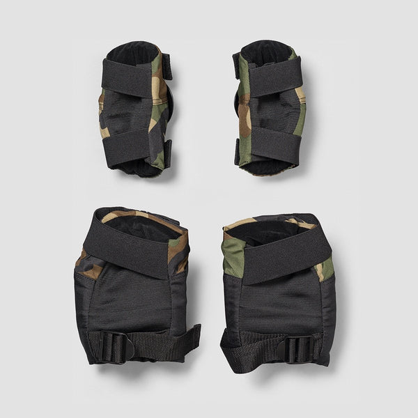 187 Killer Pads Knee & Elbow Combo Pack Camo - Safety Gear