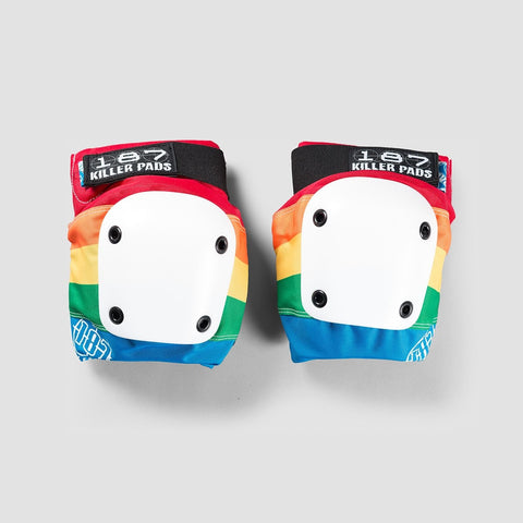 187 Killer Pads Slim Knee Pads Rainbow