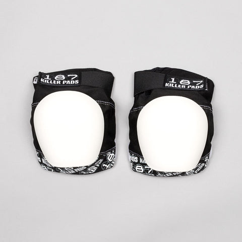 187 Killer Pro Knee Pads Black/White