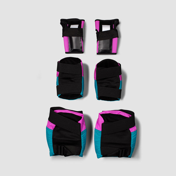 187 Killer Six Pack Pad Set Pink/Teal
