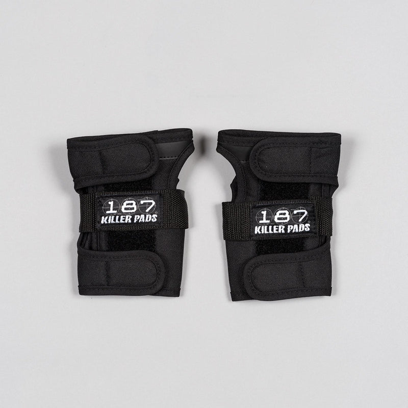 187 Killer Wrist Guards Black - Safety Gear