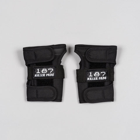 187 Killer Wrist Guards Black