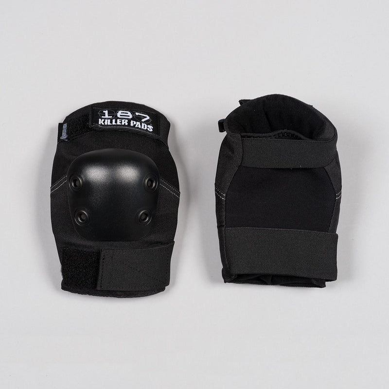 187 Pro Elbow Pads Black/Black - Safety Gear
