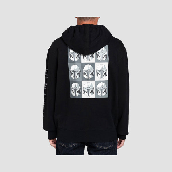 Element X Star Wars Helmets Pullover Hood Flint Black