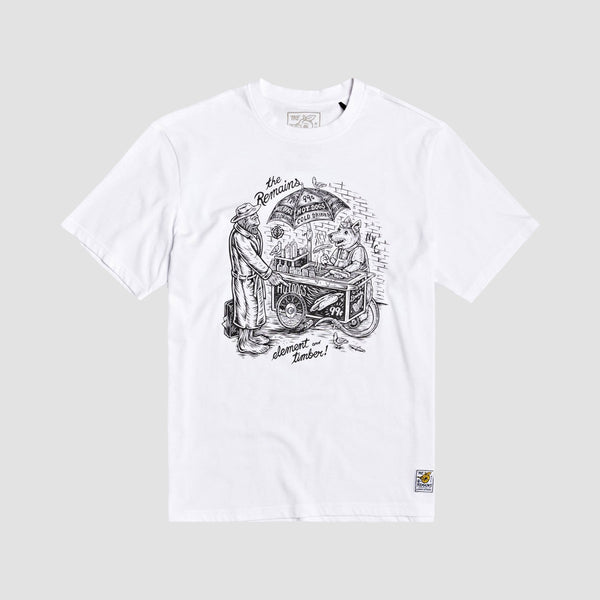 Element X Timber The Remains Vendor Tee Optic White