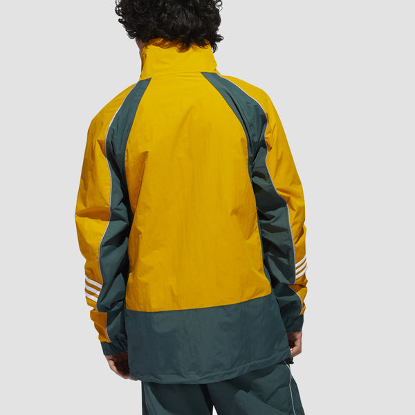 adidas 10K DNA Snow Jacket Legacy Gold/Mineral Green/White