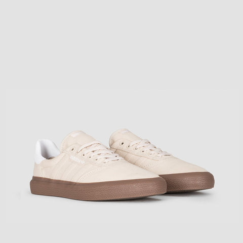 adidas 3MC Clear Brown/Footwear White/Gum5 - Unisex S - Footwear