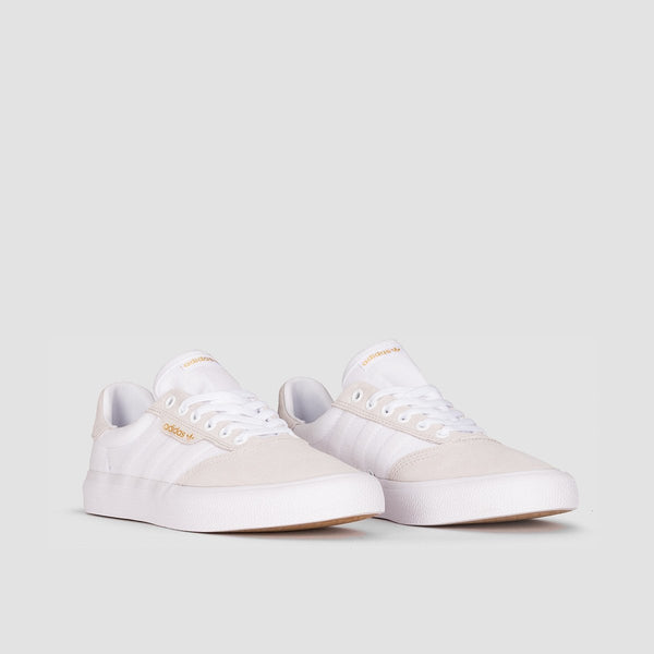 adidas 3MC Footwear White/Crystal White/Gold Metallic - Unisex L - Footwear