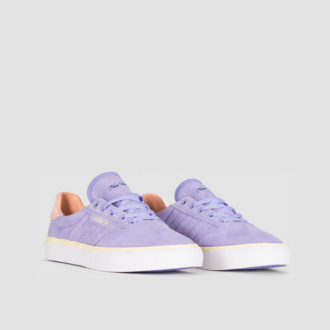 adidas 3MC Nora Light Purple/Glow Pink/Mist Sun - Unisex S - Footwear
