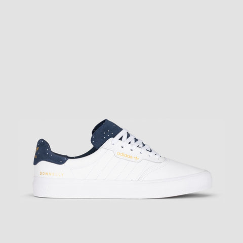 adidas 3MC X Jake Donnely Footwear White/Collegiate Navy/Gold Metallic - Unisex L