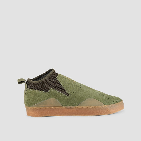 adidas 3ST.002 Base Green/Night Cargo/Gum4 - Footwear