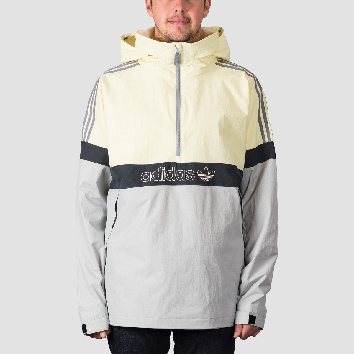adidas BB Snowbreaker Snow Jacket Haze YellowStoneCarbon