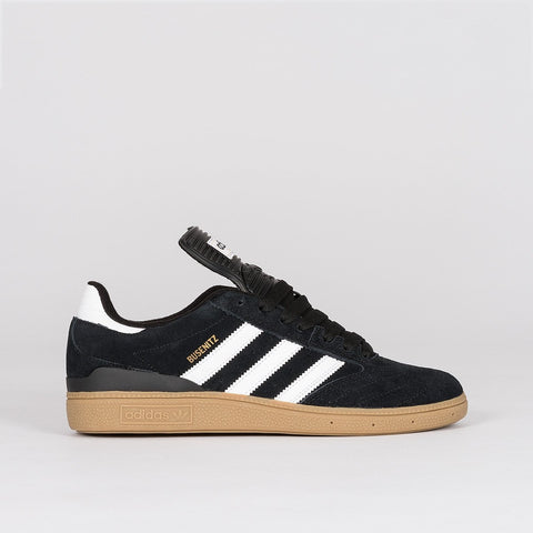 adidas Busenitz Pro Black 1/Running White Footwear/Metallic Gold