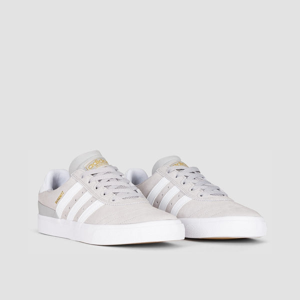 adidas Busenitz Vulc Grey Two F17/Footwear White/Gold Metallic - Footwear
