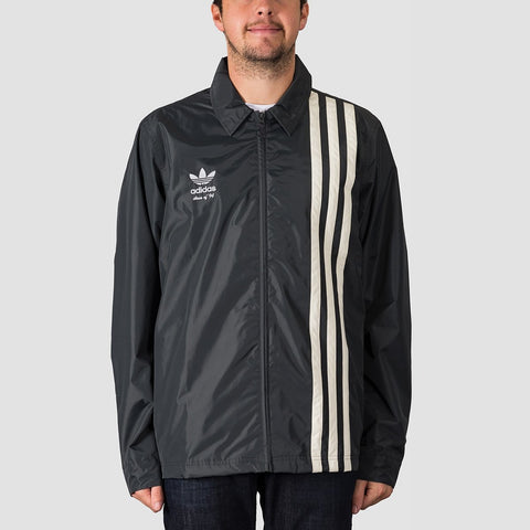 adidas Civilian Snow Jacket Carbon/Active Blue/Cream White