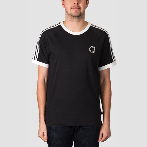 adidas Club Jersey Tee Black/White/Core White/Grey One F17 - Unisex - Clothing