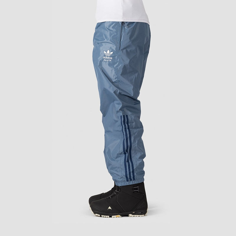 adidas Comp Snowboard Pants Raw Steel S18/Noble Indigo S18/Easy Yellow - Snowboard