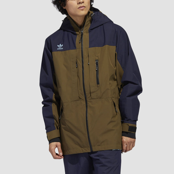 adidas Gore-Tex Snow Jacket Legend Ink/Trace Olive/Ice Blue
