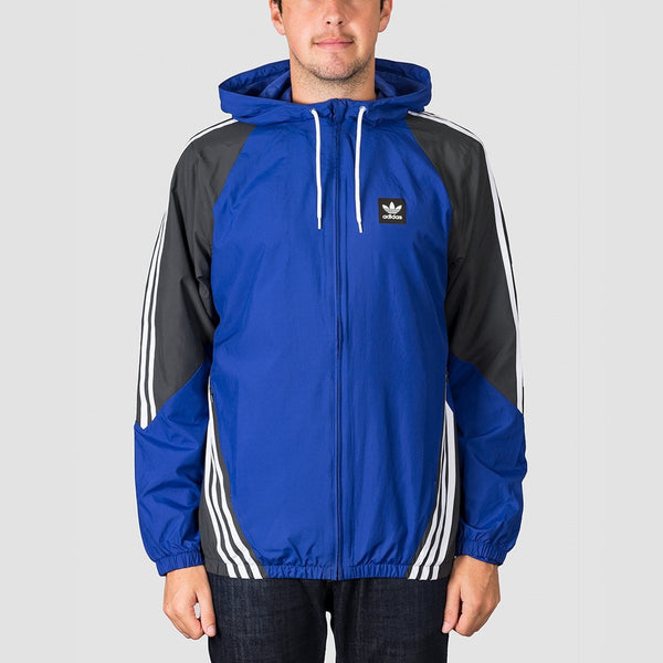 adidas Insley Jacket Active Blue/Dgh Solid Grey/White - Clothing