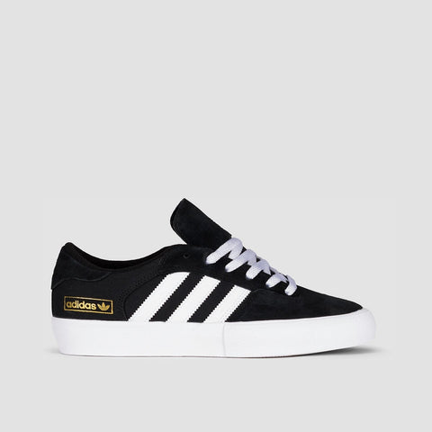 adidas Matchbreak Super Core Black/Footwear White/Gold Metallic - Unisex L