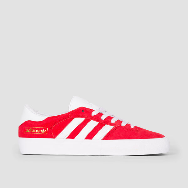 adidas Matchbreak Super Scarlet/Footwear White/Gold Metallic - Unisex S