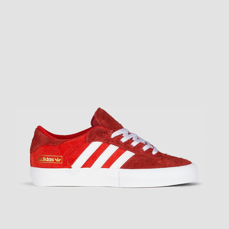 adidas Matchbreak Super St Brick/Footwear White/Gold Metallic - Unisex S - Footwear