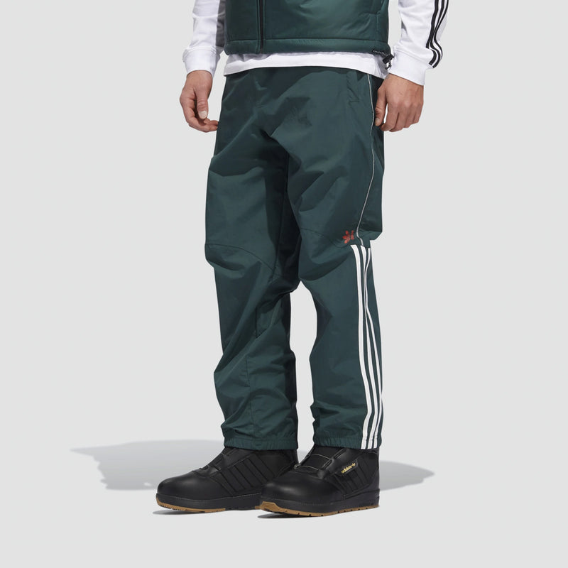 adidas Mobility Lightweight Snow Pants Mineral Green/White