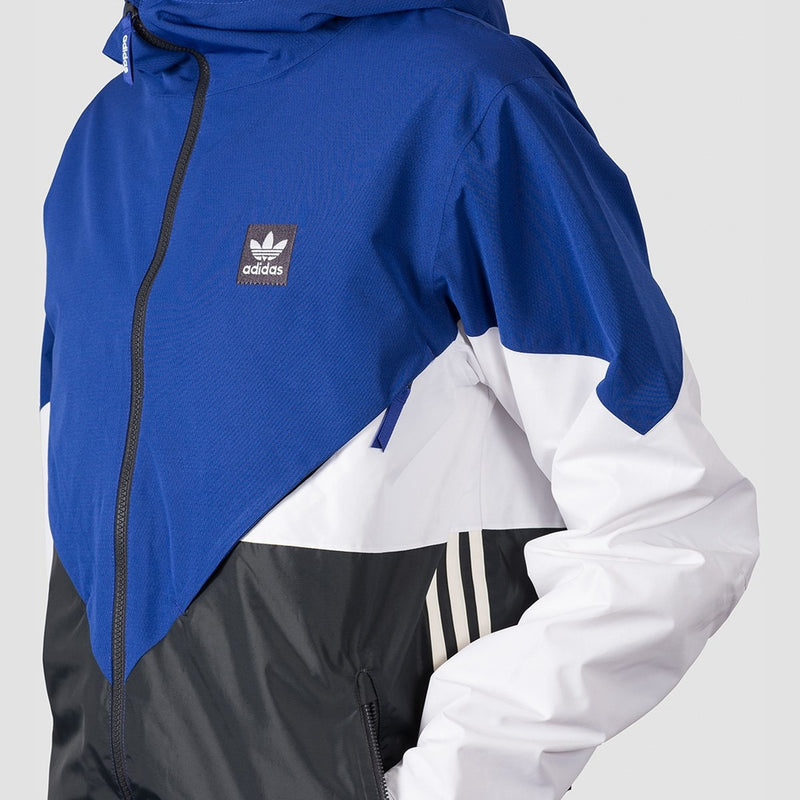 adidas Premiere Riding Snow Jacket Active Blue/Carbon/Cream White/White - Snowboard