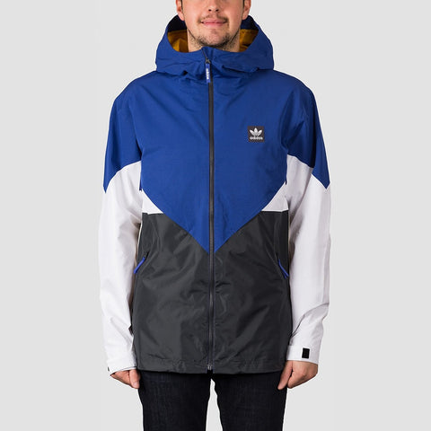adidas Premiere Riding Snow Jacket Active Blue/Carbon/Cream White/White