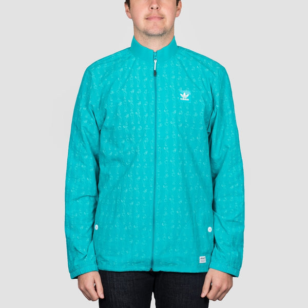 adidas Rclaire Jacket Shock Green S16 - Clothing