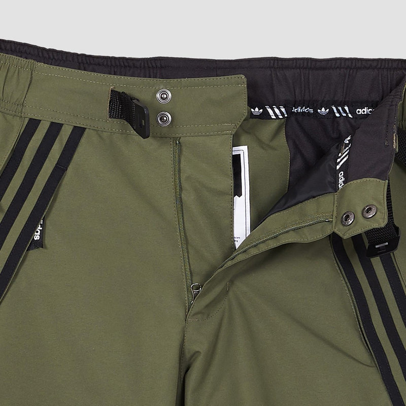 adidas Riding Snowboard Pants Base Green/Black - Snowboard