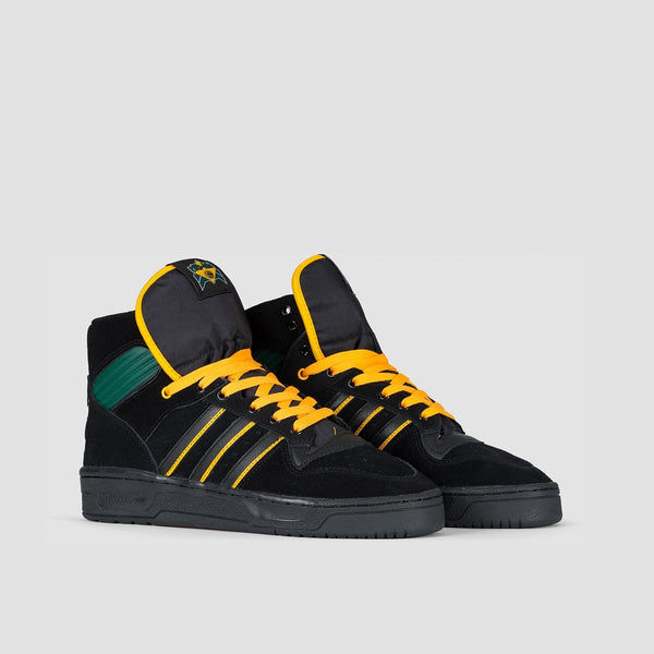 adidas Rivalry Hi Og X Na-Kel Core Black/Collegiate Gold/Collegiate Green - Footwear
