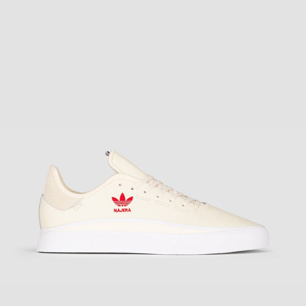 adidas Sabalo Cream White/Footwear White/Power Red - Unisex L - Footwear