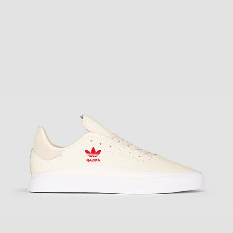 adidas Sabalo Cream White/Footwear White/Power Red - Unisex L