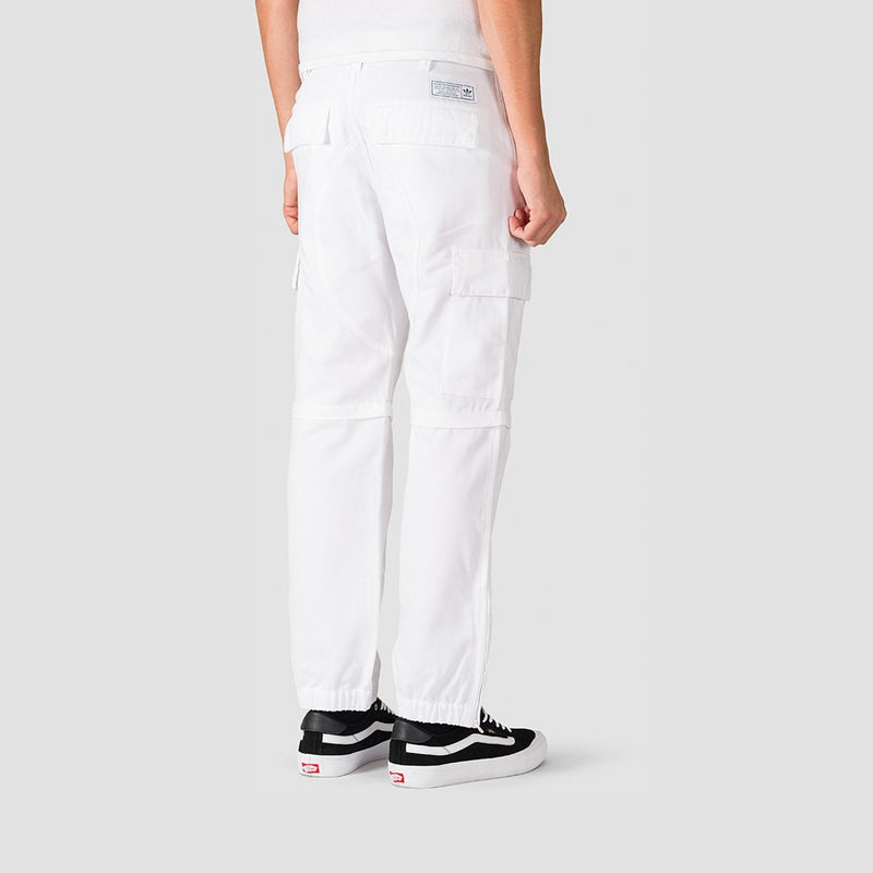 adidas TJ Cargo Pants White/Collegiate Green - Unisex - Clothing