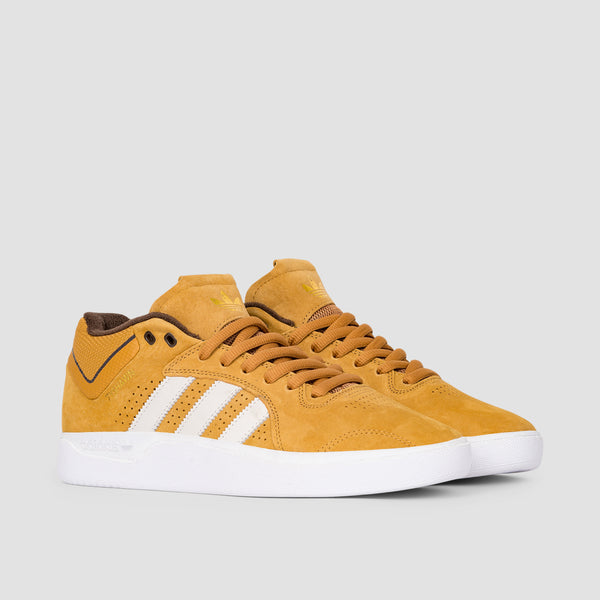 adidas Tyshawn Mesa/Chalk White/Dark Brown