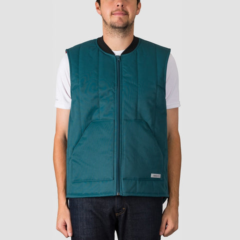 adidas Workwear Vest Snow Jacket Viridian/Power Red/Noble Indigo S18