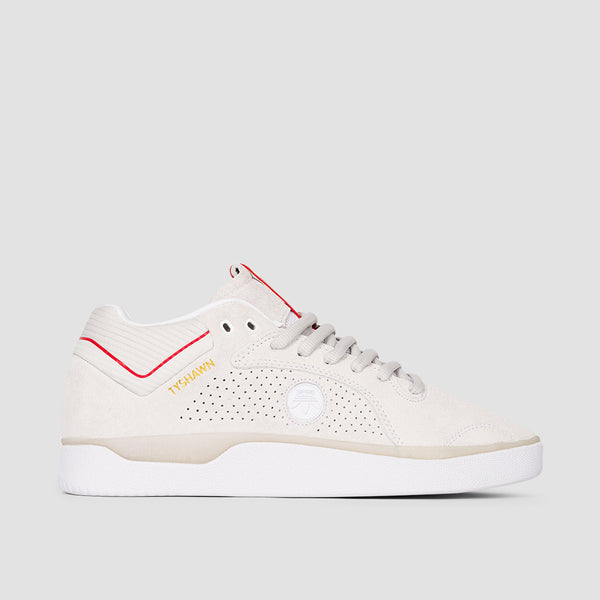 adidas X Thrasher Tyshawn Footwear White/Scarlet/Gold Metallic