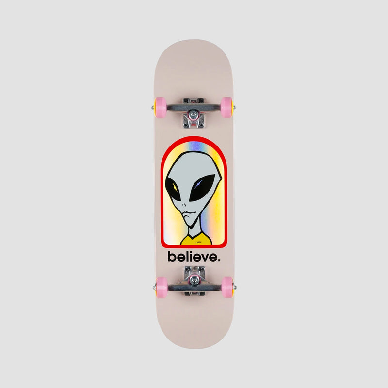 Alien Workshop Believe Hologram Pre-Built Complete Pink - 7.875""