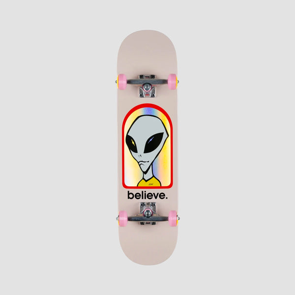 Alien Workshop Believe Hologram Pre-Built Complete Pink - 8.125""