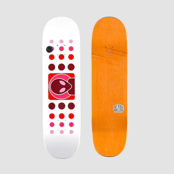 Alien Workshop Dot Fade Deck White/Red - 8.5 - Skateboard